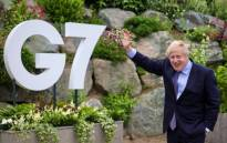 FILE: UK Prime Minister Boris Johnson will not shake hands at the G7 Summit-- something he insisted on doing in the early stages of the pandemic. Picture: Twitter/@BorisJohnson