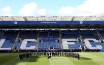 Players and management pay tribute to Vichai Srivaddhanaprabha at Leicester's King Power Stadium. Picture: www.lcfc.com.