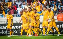 FILE: Kaizer Chiefs players celebrate a goal. Picture: @KaizerChiefs/Twitter