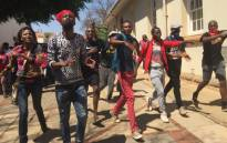 Some students at the University of Pretoria moving to disrupt whichever classes still taking place. Leadership encourages non-violent behaviour.Picture: Reinart Torrein/EWN