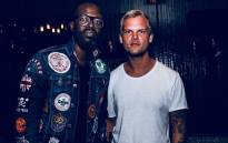 Black Coffee poses with Avicii. Picture: @RealBlackCoffee/Twitter.