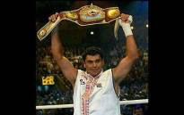 South African Corrie Sanders won the World Boxing Organisation title by knocking out Wladimir Klitschko in the second round in 2003. Picture: Facebook.
