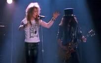 Guns n' Roses to reunite with original members for  Coachella music festival in California in April.Picture : Screengrab/CNN