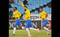 Jeremy Brockie scored his first league goal for Mamelodi Sundowns in more than a year. Picture: Twitter/@Masandawana.