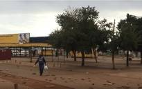 Bekkersdal residents in the West Rand took to the streets on 10 April 2019 to call for electricity, water, adequate sewerage and school maintenance in the area. picture: EWN.