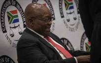 President Jacob Zuma at the state capture commission on 15 July 2019. Picture: Abigail Javier/EWN