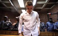 Nicholas Ninow appears in the Magistrates Court in Pretoria. Picture: Abigail Javier/EWN.