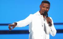 Host Jamie Foxx speaks onstage at the 2018 BET Awards at Microsoft Theater on 24 June 2018 in Los Angeles. Picture: AFP.