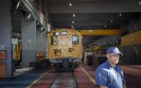 FILE: A view inside the Prasa repair depot. Picture: Thomas Holder/EWN.