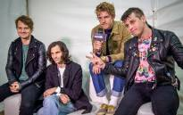 Foster The People arrive at Rocking the Daisies to play their first gig on South African soil. Picture: Anthony Molyneaux/EWN