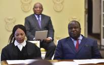 President Cyril Ramaphosa appointed Tito Mboweni as Minister of Finance, who was sworn in on 9 October 2018. Picture: GCIS