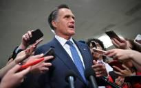 FILE: US Senator Mitt Romney. Picture: AFP