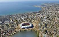 FILE: The Nelson Mandela Bay Stadium. Picture: Ngrund/Wikimedia Commons.