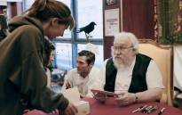 US writer George RR Martin, author of the 'Game Of Thrones' books, at a book signing in 2014 in Dijon, eastern France. Picture: AFP