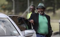 Eskom chairperson Jabu Mabuza arrives at Lethabo Power Station. Picture: Abigail Javier/EWN.