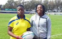 Springbok Women twins Chuma and Chumisa Qawe. Picture: SA Rugby.