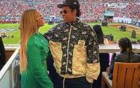 Beyonce and Jay Z pictured at the Super Bowl on 2 February 2020. Picture: @beyonce/Instagram