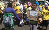 FILE: A housing protest in the Cape Town CBD. Picture: Lauren Isaacs/EWN