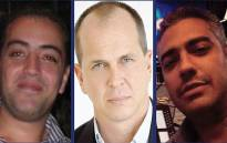 Al Jazeera staff (L-R) Baher Mohamed, Peter Greste and Mohamed Fahmy were sentenced to seven years in an Egyptian Court on 23 June 2014.