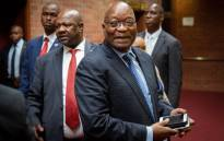 Former President Jacob Zuma at the KwaZulu-Natal High Court in Pietermaritzburg on 21 May 2019. Picture: Sethembiso Zulu/EWN