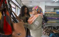 Lee Kasumba (left) and Hadia Mohamed Gondji. Picture: Primedia