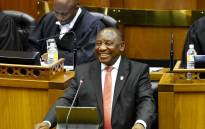 President Cyril Ramaphosa during his fourth State of the Nation Address. Picture: GCIS