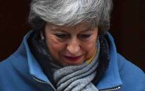 FILE: Britain's Prime Minister Theresa May leaves 10 Downing Street in London on 14 March 2019 ahead of a further Brexit vote. Picture: AFP