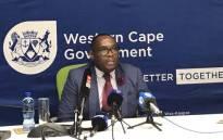 FILE: Western Cape Transport MEC Bonginkosi Madikizela. Picture: Kaylynn Palm/Eyewitness News.