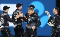 New Zealand won the final T20 by 65 runs and swept the series 3-0 on 2 April 2021. Picture: @ICC/Twitter.