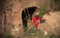 FILE: An unknown number of zama zamas are trapped underground at the Langlaagte mine. Picture: Kgothatso Mogale/EWN.