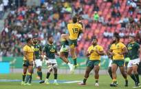Springboks vs Wallabies on 29 September 2018. Picture: @Springboks/Twitter.