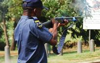FILE: Police used rubber bullets to disperse the crowd of 700 people during a violent protest. Picture: EWN.