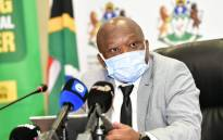 KZN premier Sihle Zikalala during his brief on the government's efforts to restore the economy and communities in the province on Saturday, 24 July 2021. Picture: Twitter/@kzngov