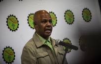 FILE: Amcu president Joseph Mathunjwa briefs the media on 4 August 2018. Picture: Kayleen Morgan/EWN