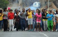 FILE PICTURE: Service delivery protests.