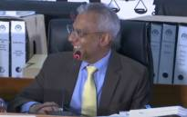 A screengrab of former Transnet CFO Anoj Singh giving evidence at the state capture inquiry on 28 May 2021. Picture: SABC/YouTube