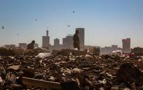 FILE: A waste picker is seen in the Robinson Deep landfill site in Johannesburg. Picture: Christa Eybers/EWN