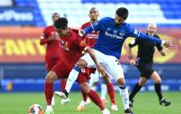 Liverpool and Everton played to a draw in their English Premier League match at Goodison Park, Liverpool on 21 June 2020. Picture: @LFC/Twitter