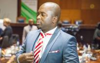 Msimanga vows to break residents free from chains of poverty.Picture: Kgothatso Mogale/EWN