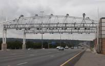 FILE: An e-toll gantry on the N1 in Johannesburg. Picture: Christa Eybers/EWN.