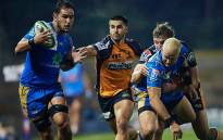 ACT Brumbies powered to the top of Super Rugby AU Saturday with a 24-0 thrashing of Western Force. Picture: @westernforce/Twitter