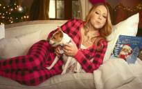 Mariah-Carey to star in new Christmas movie. PIcture: screengrab/CNN