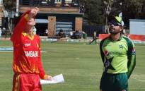 Pakistan won the toss and chose to bat against Zimbabwe in the third and final Twenty20 international at Harare Sports Club. Picture: Twitter  @TheRealPCB.