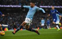 Manchester City's Brazilian striker Gabriel Jesus scores the opening goal during the English Premier League football match between Manchester City and Everton at the Etihad Stadium in Manchester, north west England, on 15 December, 2018. Picture: AFP.