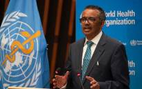 FILE: World Health Organisation Director-General Tedros Adhanom Ghebreyesus Picture: @WHO/Twitter.