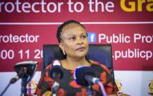 FILE: Public Protector Busisiwe Mkhwebane on 4 December 2017. Picture: Thomas Holder/EWN