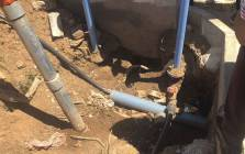 The City of Johannesburg cracked down on business premises where it appears that contractors have illegally connected water and electricity supply in recent months. Picture: Abigail Javier/EWN.