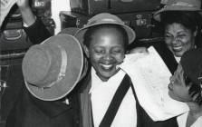 A file image of Zondeni Sobukwe (centre). Picture: @Sobukwe_Trust/Twitter
