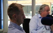 FILE: Investigative journalists Stephan Hofstatter and Jacques Pauw in studio with Radio 702 host Eusebius McKaiser. Picture: Radio 702