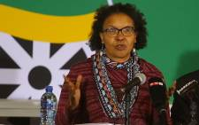 FILE: ANC's Febe Potgieter-Gqubule addressing the media at the party's policy conference in Nasrec, Johannesburg. Picture: Christa Eybers/EWN